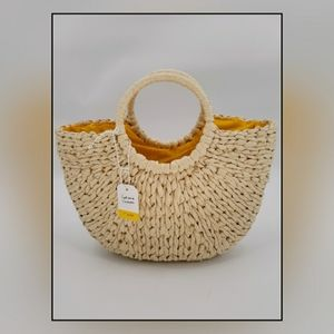 Handbags - L'occitane straw bag